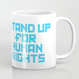 Stand for Human Rights—Female Nesting Doll Coffee Mug