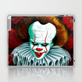 The Dancing Clown - Pennywise IT - Vector - Stephen King Character Laptop & iPad Skin