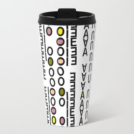Vowels Travel Mug
