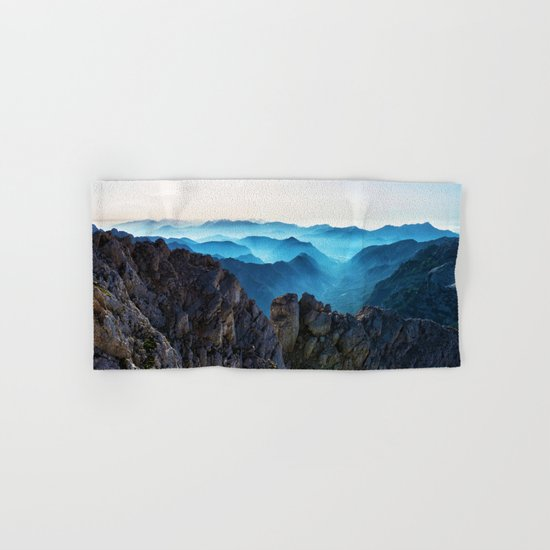 Mountains Breathe Too Hand & Bath Towel