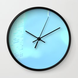 Fly: Under Water City Wall Clock