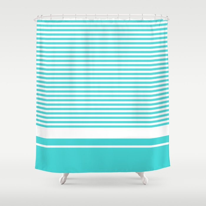 Vintage T-shirt No16 Shower Curtain