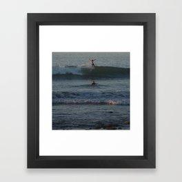 Hang Ten Balance Framed Art Print