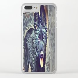 The Belgian Shepherd Clear iPhone Case