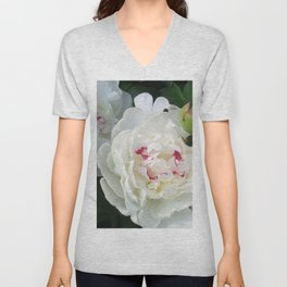 White Beauties Unisex V-Neck