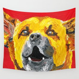 bus stop barker Wall Tapestry