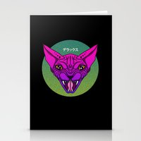 sphynx Stationery Cards featuring SPHYNX by SHIN DE☆LUXE