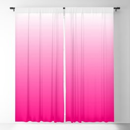 Hot Pink Ombre Blackout Curtain