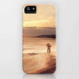 Inuksuk Seascape iPhone Case