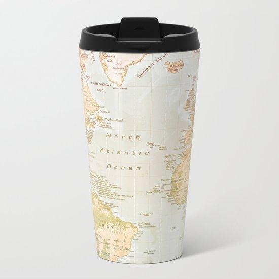 Pastel World Metal Travel Mug