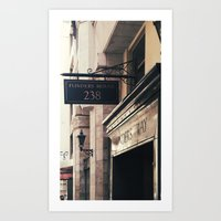 238 Flinders Lane Art Print