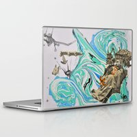 political Laptop & iPad Skins featuring Political Tensions by Quinten Sheriff