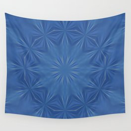 Blue Crunch Wall Tapestry