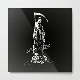 TEMPUS EDAX RERUM Metal Print