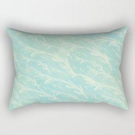 watercolour everywhere /Agat/ Rectangular Pillow