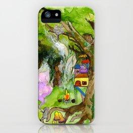 Rat Town iPhone Case