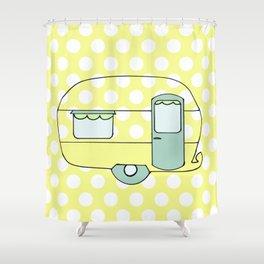 Caravan Version Five Shower Curtain