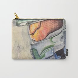 Halo gaming watercolor design Carry-All Pouch