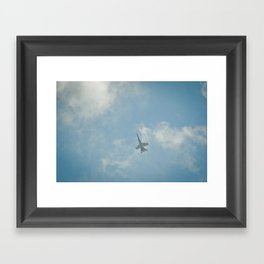 Swiss Airforce F-18 Hornet Framed Art Print