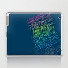 Boom Boom Boom Laptop & iPad Skin
