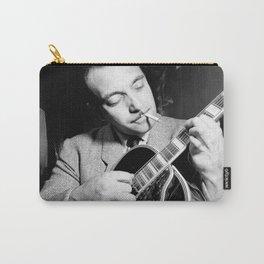 Django Reinhardt at the Aquarium Jazz Club Carry-All Pouch