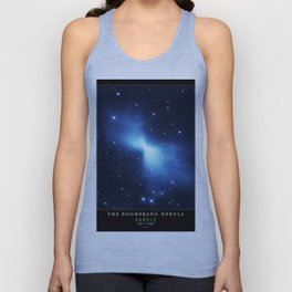 NASA Hubble Space Telescope Poster - The Boomerang Nebula Unisex Tank Top