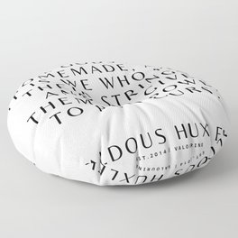 44   Aldous Huxley Quotes 200905 The Author Of Brave New World Literature Literary Writing Writer Floor Pillow