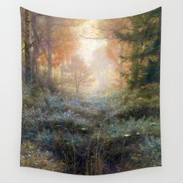 Dew-Drenched Furze by John Everett Millais (1889) Wall Tapestry