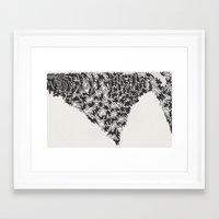 hustle Framed Art Prints featuring hustle. by malorrryink