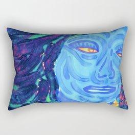 """""""The Blues"""" Rectangular Pillow"""