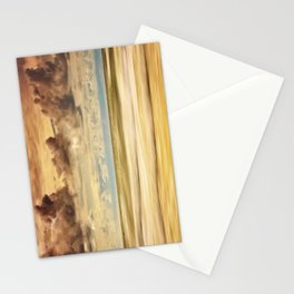 Stormy North Sea Stationery Cards