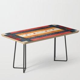 N42 - Retro Traditional Bohemian Moroccan Artwork Coffee Table