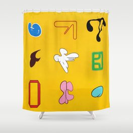 Sinx Sol (oil on canvas) Shower Curtain