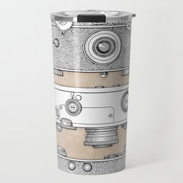 patent photographic camera 1938 Travel Mug