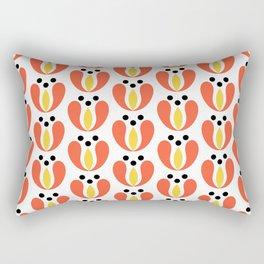 Simple tulip pattern Rectangular Pillow
