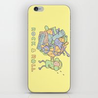 katamari iPhone & iPod Skins featuring Katamari Rock & Roll by vonplatypus