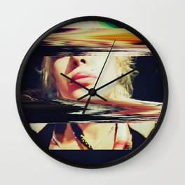 GLIDING through A BLACKHOLE Before BREAKFAST Wall Clock