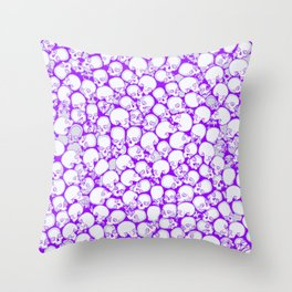 Gothic Crowd ULTRA VIOLET Throw Pillow