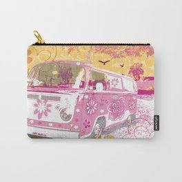 girl camper Carry-All Pouch