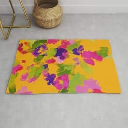 The Floral Watercolor Rug