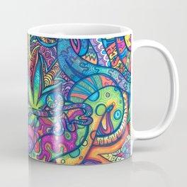 Trippy Weed Coffee Mug
