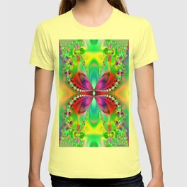 Abstract Jewel Butterfly  T-shirt