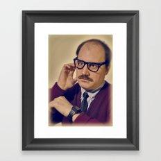 i.am.nerd. :: davey I Framed Art Print