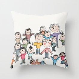 The Peeps Throw Pillow
