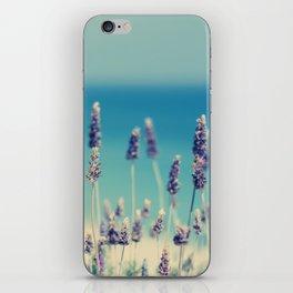 beach - lavender blues iPhone Skin