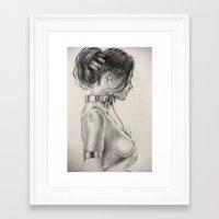 bondage Framed Art Prints featuring Beautiful Bondage by John Lanthier