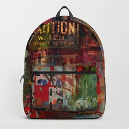 City under construction Backpack