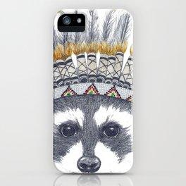 Festivale Raccoon iPhone Case