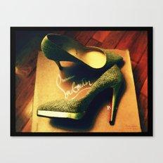 Shoes - Louboutin V Canvas Print