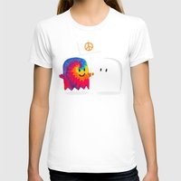 hippie T-shirts featuring Hippie ghost by Picomodi